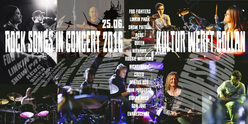 ROCK SONGS IN CONCERT 2016 - ROCK KONZERT DER STICKS SCHOOL OF MUSIC